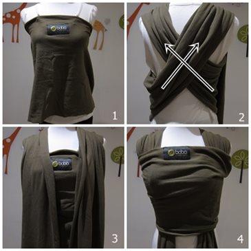boba包裹式背巾