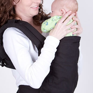 Boba寶寶背巾3G背法,新生兒3.2 - 7kg