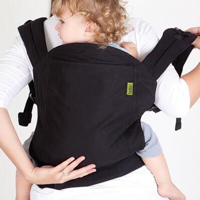 Boba寶寶背巾3G背法,後背9 - 20kg
