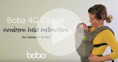 Boba 4G背巾新生兒使用方式教學影片