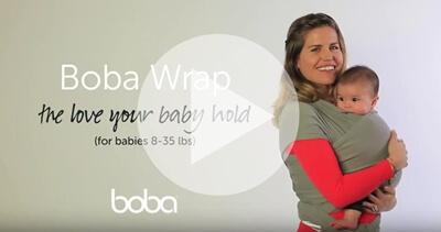 Boba包裹式背巾背法教學影片介紹