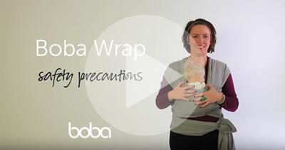 """Boba包裹式背巾安全使用及提示影片"""""""
