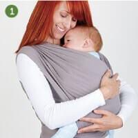 Boba包裹式背巾給您的獨家便利性