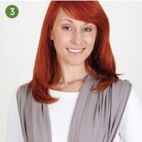 Boba包裹式背巾的設計理念是能提供最大支撐性且能簡單操作調整