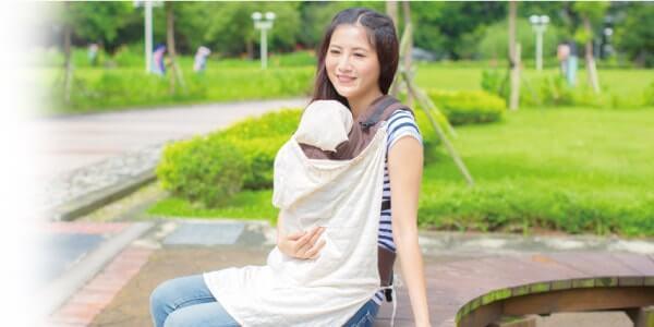 IBQ多功能UV保護巾使用於揹帶