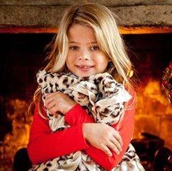 好萊塢明星最愛的動物紋美洲豹寶寶毯子