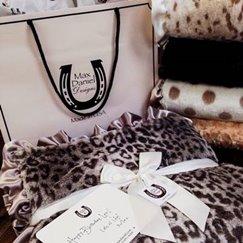 好萊塢明星最愛的動物紋寶寶毯子銀色美洲豹