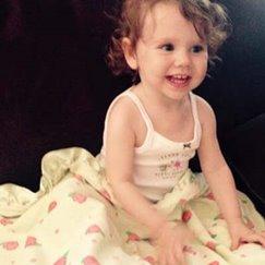 好萊塢明星最愛的寶寶毯子玫瑰花紋檸檬玫瑰
