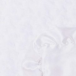 Max Daniel寶寶毯花蕾象牙白示意圖