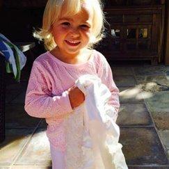 好萊塢明星最愛的寶寶毯花蕾象牙白