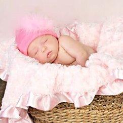 好萊塢明星最愛的寶寶毯子花蕾夢幻粉