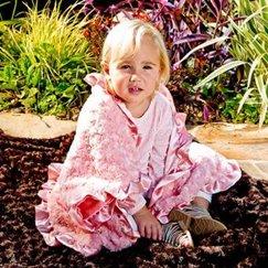 好萊塢明星最愛的寶寶毯子花蕾珊瑚粉