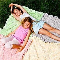 好萊塢明星最愛的寶寶毯子花蕾奶油卡士達