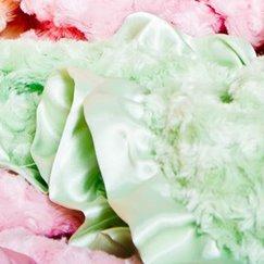 Max Daniel寶寶毯子花蕾粉嫩綠示意圖
