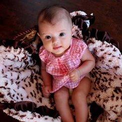 Max Daniel動物紋安撫巾粉紅雪豹是寶寶的最好朋友