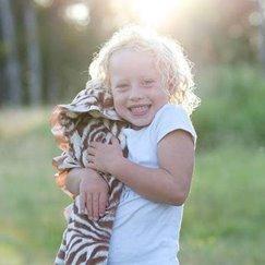 Max Daniel動物紋安撫巾棕色斑馬是寶寶的最好朋友