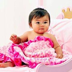 Max Daniel安撫巾粉紅美洲豹是寶寶的最好朋友